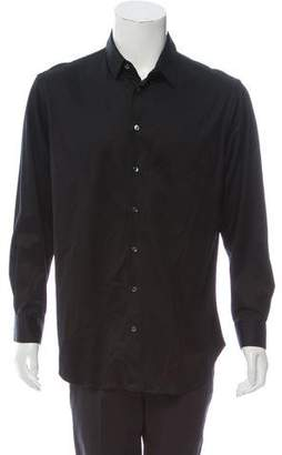 Giorgio Armani Woven Button-Up Shirt