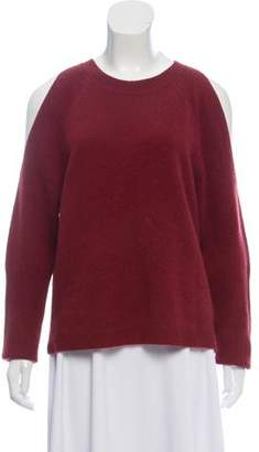 Saks Fifth Avenue Cashmere Cold-Shoulder Sweater
