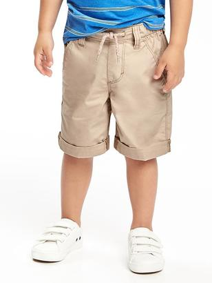 Pull-On Rolled-Cuff Shorts for Toddler $14.94 thestylecure.com