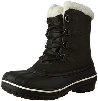 f1885ec48db5 at Amazon.co.uk · Crocs Women s AllCast Ii Boot Snow (Black)