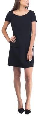Prada Women's Virgin Wool Dress Black.