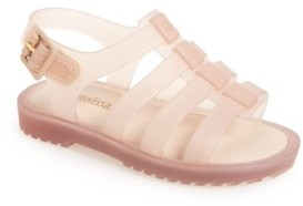 Toddler Girl's Mini Melissa 'Flox' Sandal $57.95 thestylecure.com