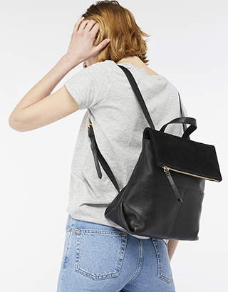 Accessorize Lydia Leather Backpack