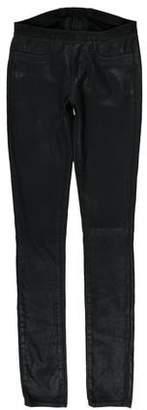 Helmut Lang HELMUT Low-Rise Shimmer Leggings