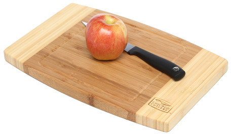 "Chicago Cutlery Woodworks 12"" x 8"" Bamboo Cutting Board"