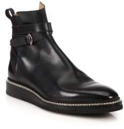 Bally Leysin Leather Ankle Boots