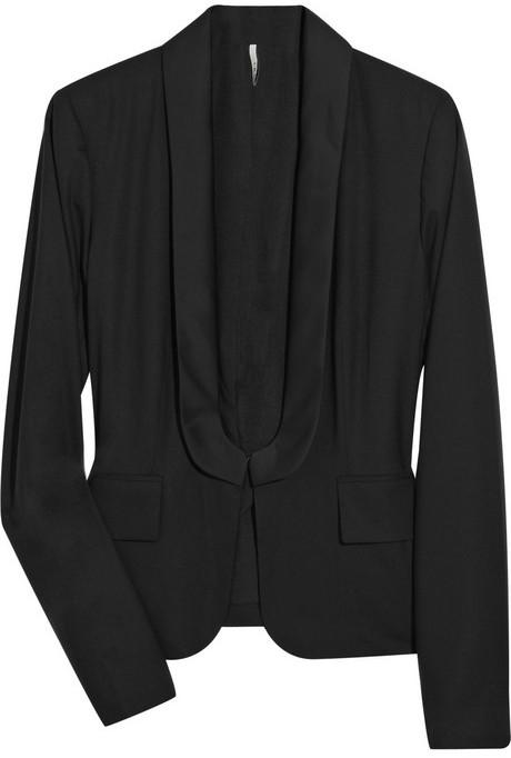 IRO Wool-blend tuxedo jacket