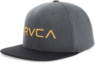 cheap for discount 30611 3a93a RVCA Twill Snapback Baseball Cap