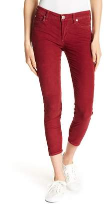 True Religion Halle Mid Rise Skinny Crop Jeans