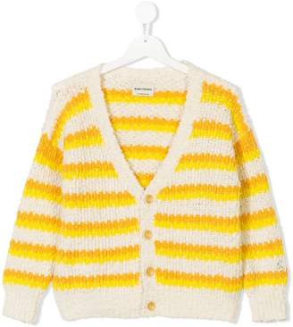 Bobo Choses knitted striped cardigan