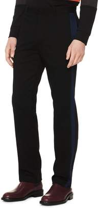 Calvin Klein Men's Contrast Stripe Cotton Stretch Pant Pants