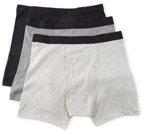 Neiman Marcus Men's 3-Pack Cotton Boxer Briefs