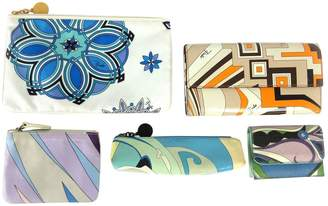Emilio Pucci Leather card wallet
