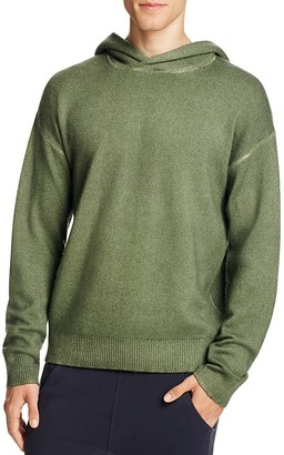 Vince Wool Cashmere Pullover Hoodie Sweater $375 thestylecure.com
