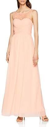 Little Mistress Women's Pink Maxi Dress
