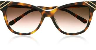 Diane von Furstenberg Arden Cat Eye Sunglasses -Tortoise
