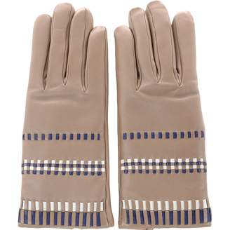33bb58ae5 Grey Leather Gloves - ShopStyle UK