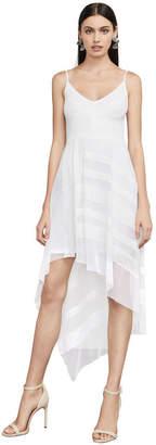 BCBGMAXAZRIA Dae Sleeveless Asymmetrical Dress
