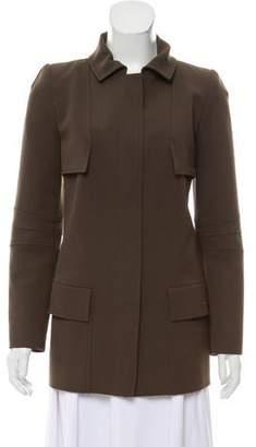 Oscar de la Renta Wool Structured Jacket