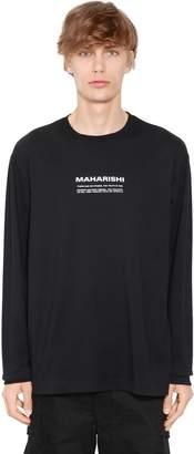 MHI Logo Detail Jersey Long Sleeve T-Shirt