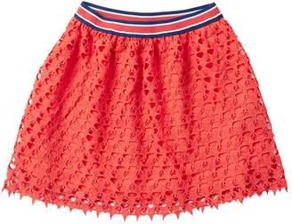 Tommy Hilfiger Star Crochet Lace Skirt (Big Girls)