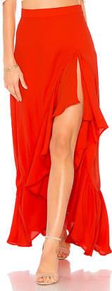 Show Me Your Mumu Salsa Skirt