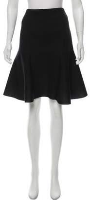 D-Exterior D. Exterior Knee-Length Skirt