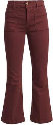 Frame Le Bardot Cropped Flare Pants