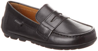 Geox Fast Leather Moccasin