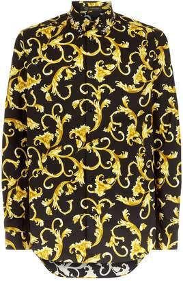Versace Embellished Baroque Shirt