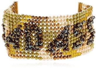 Badass Beaded Cuff Bracelet