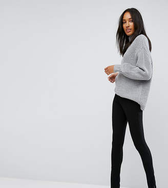 Asos Tall TALL Super High Waist Skinny Pant with Ankle Zips
