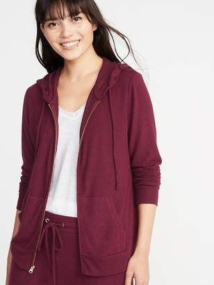 Old Navy Relaxed Plush-Knit Lounge Hoodie for Women