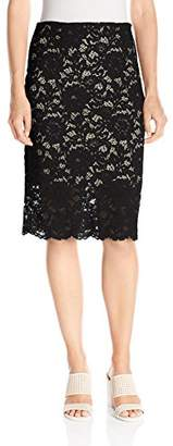 Paris Sunday Women's Lace Pencil Skirt