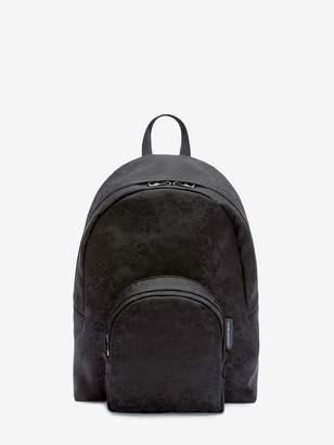 Alexander McQueen Small Jacquard Skull Backpack