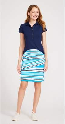 J.Mclaughlin Nicola Skirt in Watercolor Stripe