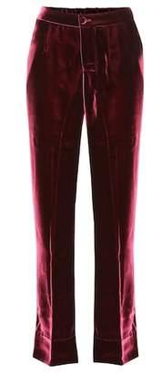 F.R.S For Restless Sleepers Crono velvet trousers