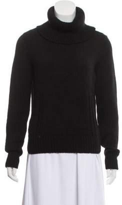 Celine Wool Turtleneck Sweater Black Wool Turtleneck Sweater