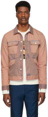 Paul Smith Pink Denim Rider Jacket