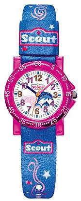 Scout Girls 'Watch Analogue Quartz Fabric 280375001