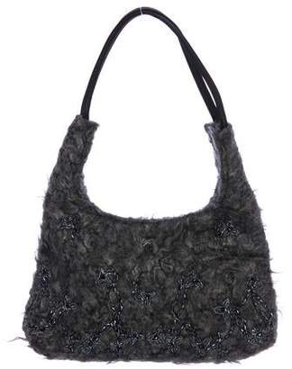 Anya Hindmarch Beaded Shoulder Bag