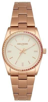 Zadig & Voltaire Women's Fusion Analog Quartz Bracelet Watch, 36mm