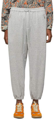 3.1 Phillip Lim Grey Side Stripe Baggy Lounge Pants
