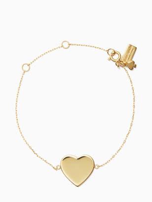 Kate Spade demi fine heart line bracelet
