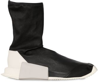 Level Stretch Leather Sock Sneakers $1,150 thestylecure.com