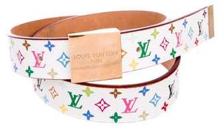 Louis Vuitton Multicolore Monogram Belt