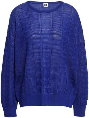 M Missoni Wool-blend Jacquard Top