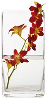 Maxwell & Williams Diamante Prism Rectangular Vase, 30cm