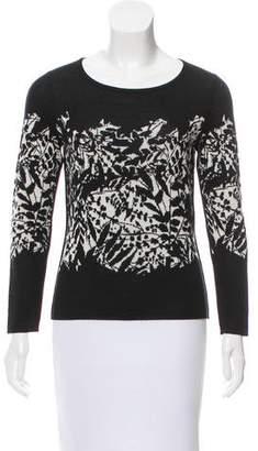 Diane von Furstenberg Merino Wool Long Sleeve Sweater