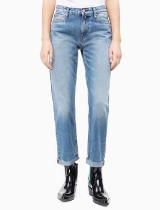 Calvin Klein Boy Mid Rise Light Blue Jeans